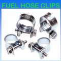 7mm - 9mm Nut & Bolt Mini Fuel Hose Clips